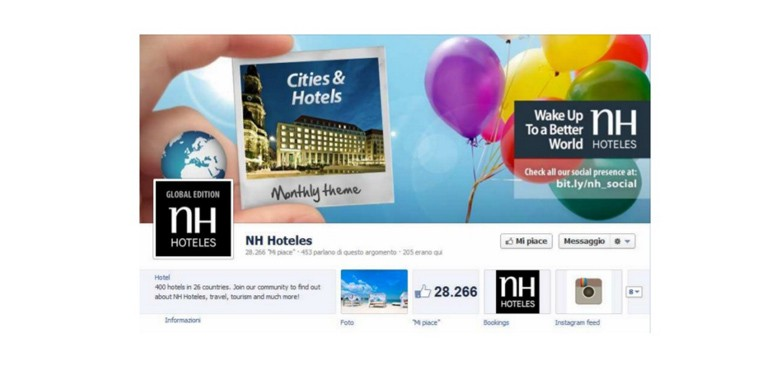Facebook cover hotel